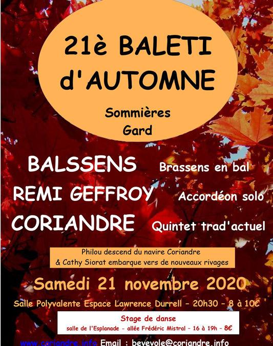 21ème balèti d'automne