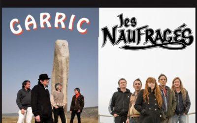 Concert – Balèti de présentation des nouveaux albums des NAUFRAGÉS et de GARRIC